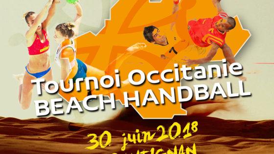 Le beach handball débarque en Occitanie !