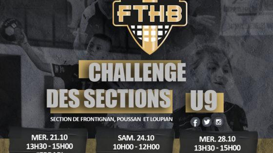 Le challenge des sections : U9 !