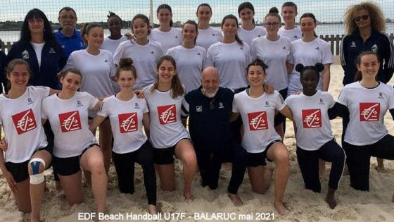 Du handball les pieds dans le sable !